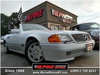 White Mercedes-Benz 500 Convertible 1993