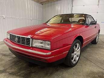 Red Cadillac Allante Convertible 1990