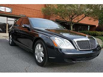 Black Maybach 57 Sedan 2004